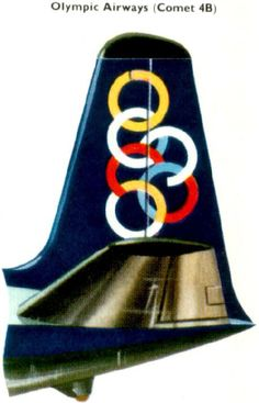 Olympic Airways Comet 4B Olympic Airlines, Airline Logo, First World, Counting, Olympics, Aviation, Greece, Aircraft, Posters