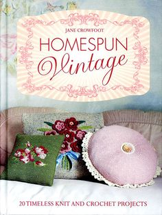 Homespun Vintage Crochet Book