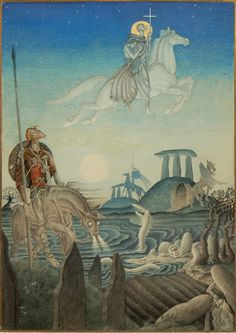 marsh king's daughter, kay nielsen