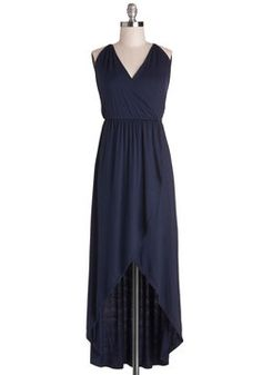 Midnight Tide Dress, #ModCloth