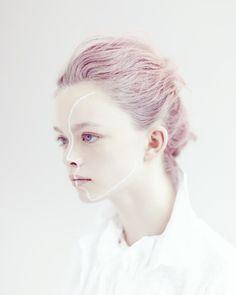White kids fashion photo story Julie Vianey and Mark Shearwood collaboration Jan 2014
