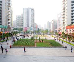 An urban farm was recently planted right in the heart of downtown Shenzhen, China as part of the Shenzhen & Hong Kong Biennale of Urbanism/Architecture. The installation, called Landgrab City, is a square plot of land that represents a map of the city