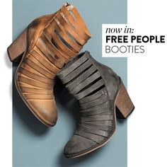 Free People 'Hybrid' Strappy Leather Bootie @ Nordstrom for $197.95