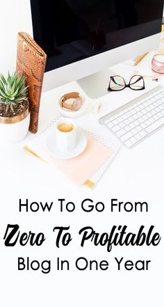 How To Go From Zero To Profitable Blog In One Year by Natalie Bacon | Free eBook to download | Learn how to make money blogging