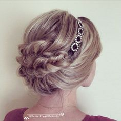 How To: Headband updo and fishtail braids -- I need to get a cute headband so I can do this