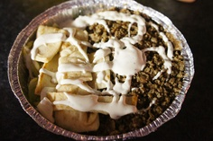 53rd & 6th Halal Guys Chicken & Rice. NY, NY. This is a MUST TRY when you visit NY.