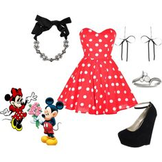 Minnie Mouse Recreate Disney Polyvore