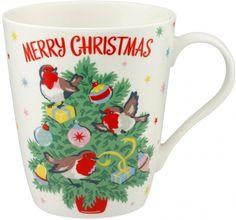 merry christmas cath mug