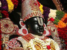 Lyrics to Sri Venkateswara Suprabhatam is the most popular South Indian devotional song to Tirupati Balaji Venkateswara, the avatar of Lord Maha Vishnu. Om Namah Shivaya, Lord Krishna, Lord Shiva, Lord Ganesha, Tirumala Venkateswara Temple, Indian Temple, Hindu Temple, Lord Balaji, Lord Vishnu Wallpapers