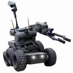 The Security Pro USA Rhino EOD Robot is designed for pyrotechnic operations and reconnaissance. Upon installation of additional devices, it can be used, among others, for disposal of dangerous objects, chemical detection and rescue operations.