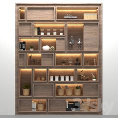 models: Other - rack Home Office Design, Interior Design Living Room, Living Room Designs, House Design, Wall Cupboard Designs, Cabinet Design, Bookshelf Design, Wall Shelves Design, Salas Home Theater