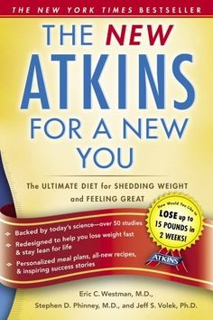 Havent read it yet but soon enought..!! Need to loose 30 Nasty Poundsss!!    The New Atkins for a New You: The Ultimate Diet for Shedding Weight and Feeling Great $6.40