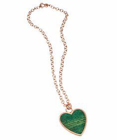LMD Heart Pendant Necklace