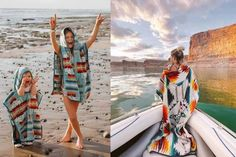 We are LIVING for this Pendleton hooded towel! This is absolutely perfect for everything from lake days, poolside, to bath time!