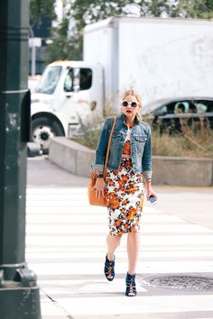 topshop:  Doubling up never looked so good in a cute floral co-ord.