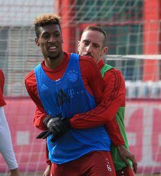 Souriant et chambreur, Ribéry prépare son come-back avec le Bayern - Football