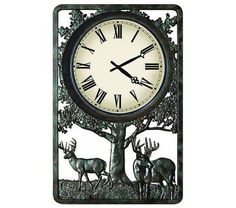 Deer Outdoor Clock
