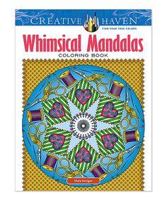 Take a look at this Whimsical Mandalas Coloring Book today!