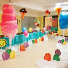 Ice Cream Social Theme More Ice Cream Social Theme Candy Themed Party, Candy Land Theme, Birthday Party Themes, Candy Land Party, Candy Theme Classroom, Carnival Birthday, Candy Land Christmas, Christmas Games, Social Themes