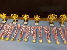 Trofeos y medallas listos #FLLMadrid #FLLSpain #FLLWorldClass