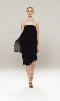 Zito – Vestidos cortos negros primavera verano 2014