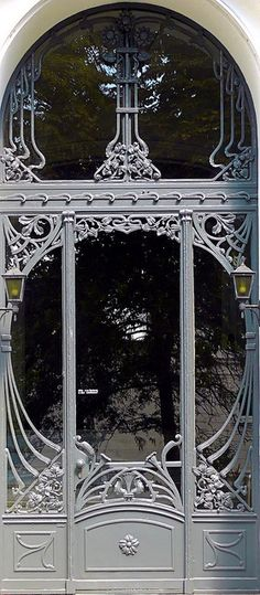 architecture & doorways & arches - Hamburg Germany - Eppendorf - Jugendstil 023
