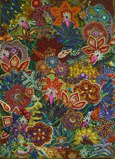 mosaic flowers