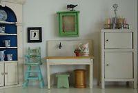 Vintage Tynietoy Doll House Miniature Kitchen Sink 1920/30s