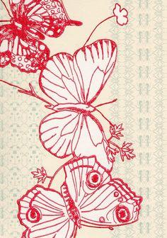 the textile files kids wallpaper rh pinterest com