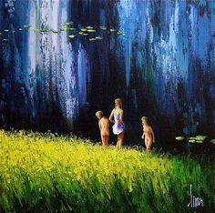 Dima Dmitriev ~ Impressionist painter