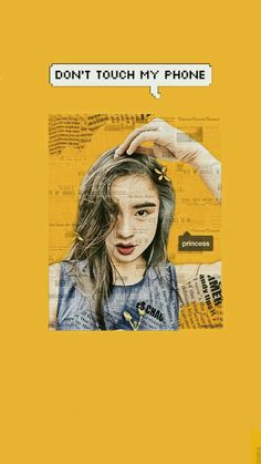 Yellow Aesthetic | Kisses Delavin Wallpaper / Lockscreen Wallpaper Lockscreen, Lock Screen Wallpaper, Touch Me, Kisses, Yellow, My Love, Movie Posters, Beauty, Film Poster