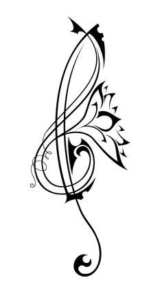 Great tattoo for music lovers <3