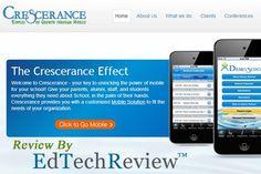 @Crescerance is a mobile app development platform for schools institutions - ETR http://ift.tt/1ot1eDb #edapps #mlearning #edtech #edchat