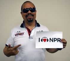 Some sweet Ice-T giving NPR a little sugar. (June 2012)