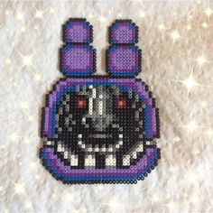 """""""okay, officially obsessed with making these. the eyes glow in the dark because i hate myself. (NOT my original pixel, although adjustments were made)…"""""""