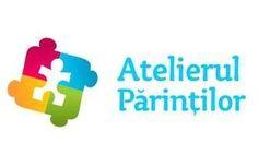 """""""atelierulparintilor.ro""""-o alternativă la abordarea tradiţională a celor """"7 ani de acasă"""". 553 voturi Logos, Atelier, Logo"""