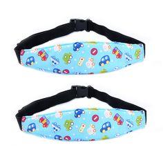 Safety Kids Stroller Car Seat Sleep Nap Aid Head Fasten Support Holder Belt  LS