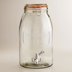 Savannah Embossed Drink Dispenser | World Market
