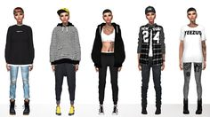 Androgynous Style 1. Hat [xx] - @toksik  Top [xx]... - Immortalsims