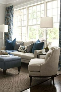 Transitional Living Room Design Ideas - Attractive Neutral Transitional Living R. - Transitional Living Room Design Ideas – Attractive Neutral Transitional Living Room Motivation (T - Coastal Living Rooms, Living Room Paint, Living Room Grey, Formal Living Rooms, Rugs In Living Room, Living Room Furniture, Living Room Designs, Furniture Layout, Furniture Placement