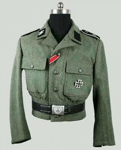 Reproduction World War II German M44 Enlisted man field tunic.  http://www.militarytour.com/german-luftwaffe-officers-jacket.html