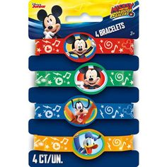 Shop Mickey and the Roadster Racers Stretchy Bracelets per Pack] Throw an extra special Mickey Mouse birthday party! Mickey Mouse Clubhouse Birthday Party, Disney Cars Birthday, Mickey Birthday, Cars Birthday Parties, 3rd Birthday, Birthday Ideas, Mickey Mouse Clubhouse Decorations, Mickey Mouse Party Supplies, Mickey Mouse Parties