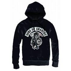 Sweat à Capuche Sons Of Anarchy Death Rapper Patch