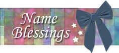 Name Blessings - Personalized Cross Stitched Names with Bible Verses Stitch Delight, Names With Meaning, Christian Parenting, Raising Kids, Girl Stuff, Grandchildren, Joyful, Blessings, Bible Verses