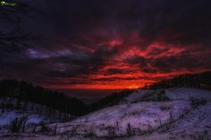 Apocalypse now by Cezar Machidon on Apocalypse, Celestial, Mountains, Sunset, Nature, Travel, Outdoor, Outdoors, Naturaleza