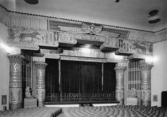 Egyptian Revival theatre. Wish this was in color.