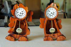 Clock by HoppsShop on Etsy