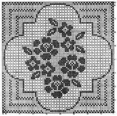 crochet em revista: motivos flores