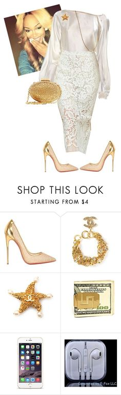 Womens Night!!!!! by cogic-fashion ❤ liked on Polyvore featuring Christian Louboutin and Chanel