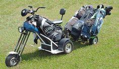 Motorcycle Golf Cart